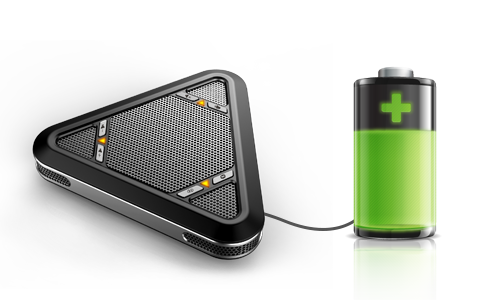MVOICE 5000-B battery