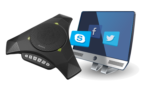 Mvoice 8000 SKYPE speakerphone