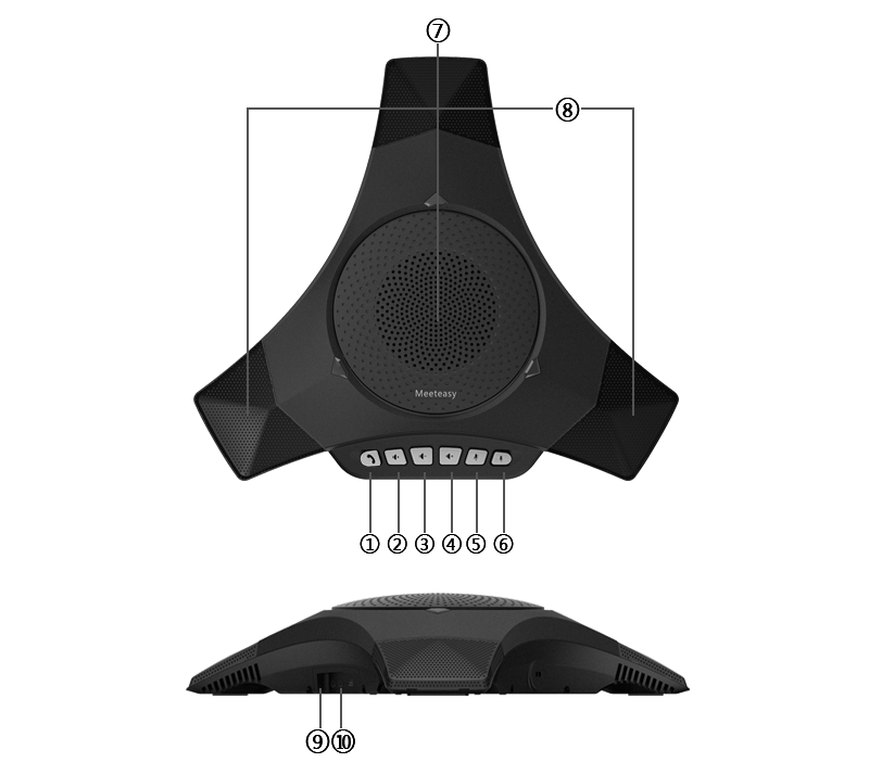 M8000-B table speakerphone