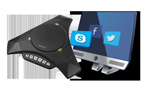 Mvoice 8000 SKYPE speakerphone