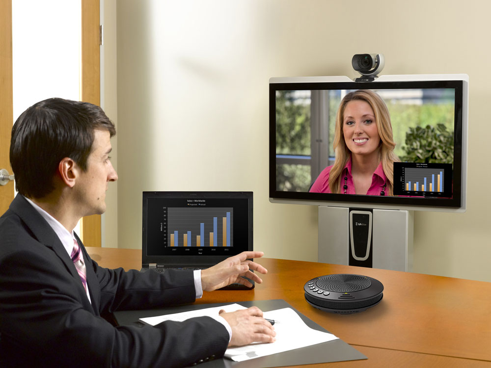 MVOICE 1000 speakerphone video conference