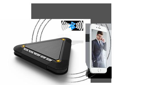 MVOICE 3000-B-full duplex bluetooth speakerphone